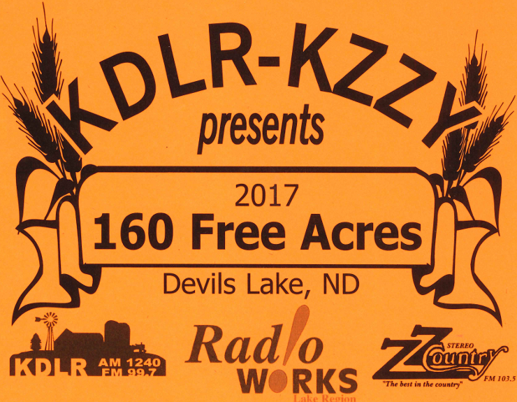 Did you win a prize in the 160 Free Acres Contest?